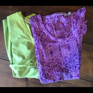 Athleta top bundle